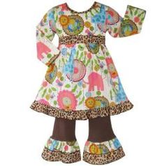 @Overstock - It's a jungle out there, but this adorable jungle print dress from Ann Loren makes sure your little girl is going to look cute no matter how fierce it gets. A printed dress pairs with matching pants for a completely cute ensemble.http://www.overstock.com/Clothing-Shoes/Ann-Loren-Boutique-Girls-Jungle-Dress-and-Pant-Set/5093405/product.html?CID=214117 $25.99