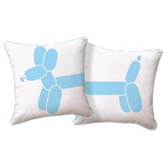 Balloon Dog Pillow