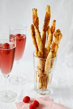 Parmesan, Cayenne and Poppy Seed Cheese Straws