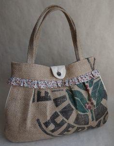 coffee sack shoulder bag.