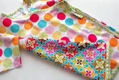 baby kimono wrap tutorial -- so cute!