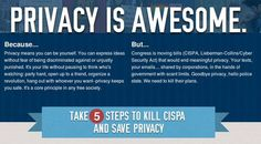 Now Is The Time To Tell That Privacy Is Awesome And CISPA Is Not