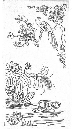 Embroidery pattern #Chinese