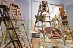 visual merchandis, animals, window display, ladders, homes