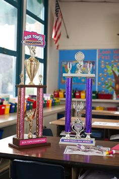Box Tops trophies!