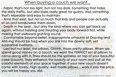 When buying a couch... #couchbuyingtips #houseofsmiths