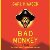 carl hiaasen, miami polic, bad monkey, counti sheriff, book worth, offices, lava book, explan, book print