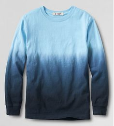Ombre tie-dye t-shirt on sale at Land's End