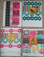 Cute Cards using American Crafts products
