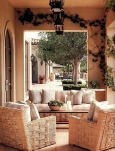 Michael S. Smith ~ outdoor living