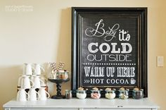 Pen N' Paperflowers: STYLiNG | Hot Cocoa Bar