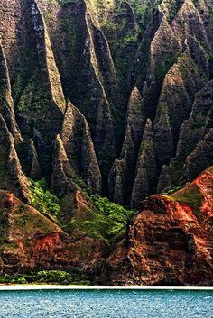 na pali coast : kauai