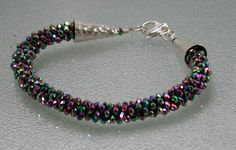 Be the IT Girl  Iridescent Crystal by SilverSeahorseDesign on Etsy, $30.00