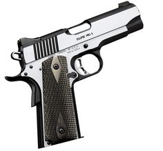 Kimber 1911 Eclipse Pro II - A 4-inch bull barrel combines with a full-size stainless steel frame for an ideal combination of size and weight.