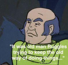 Ed Brooks, Carbucks and old man Ruggles