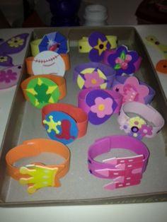Foamy bracelet