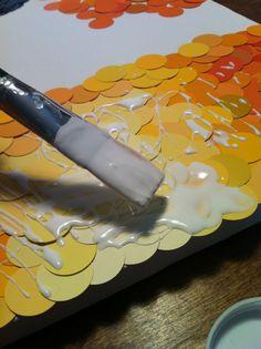 just another paint chip art idea!