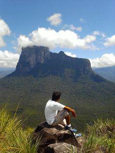 Monumento Natural Cerro Autana, esta ubicado en el Municipio Autana, Edo. Amazona, Venezuela