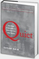 "This book is amazing. A wonderful job of giving very concrete examples of how ""loudly"" the strengthes of those who are the quiet amongst us have impacted, improved, enlightened, and overall helped us-as much if not more at times then those who are the outgoing and extroverted among us. All those who are quiet, shy, withdrawn, introverted- ESPECIALLY if you were to made to feel inferior because of it- should read this book."