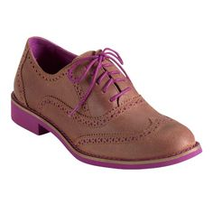 Alisa Oxford beet/chesnut shoes by Colehaan.com