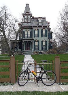 William Davenport House 1876, Saline, MI