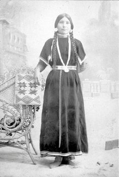 Nez Perce woman – 1900, no name, date or location