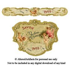 perfume label- free