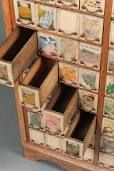 old seed cabinet