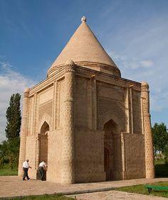 Aisha-Bibi Mausoleum, southern Kazakhstan