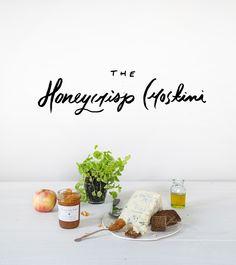 Honey crisp crostini