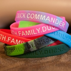 Duck Commander Store - BRACELET - PINK SILICONE FFD $3.00