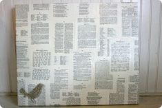 book pages canvas