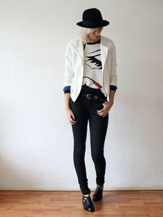 OUTFIT / WHITE MASK - Connected to fashion   creatorsofdesire.com