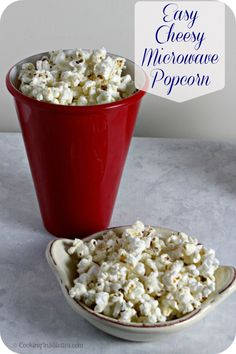 Easy Cheesy Microwave Popcorn - perfect for watching SCANDAL | Cooking In Stilettos  http://cookinginstilettos.com/get-scandalously-inspired-beamly-treats-scandal-finale-party/