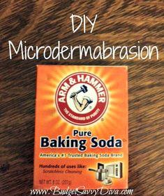 DIY Microdermabrasion | Budget Savvy Diva