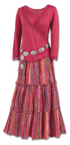 Casual Broom Skirt, this is so me!