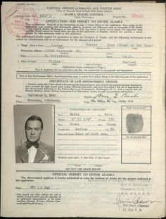 Dec 23, 1942 - Bob Hope agreed to entertain U.S. airmen in Alaska. It was the first of the traditional Christmas shows. His travel to Alaska, then a U.S. territory, required a special permit.   In 1997 Bob Hope was designated an honorary veteran for his humanitarian services to the United States Armed Forces by Congress. He is the only individual in history to have earned this honor. #wwii