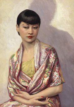 Anna May Wong by Dorothy Wilding and Beatrice Johnson, 1929 (Source: npg.org.uk, via jungfrukallan)