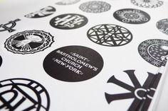 Saint Bartholomew's Church / #branding #logotype #circles / Original Champions of Design