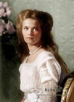 Grand Duchess Olga Nikolaevna Romanova...