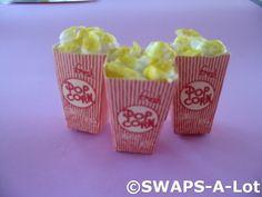 Popcorn Girl Scout SWAPs