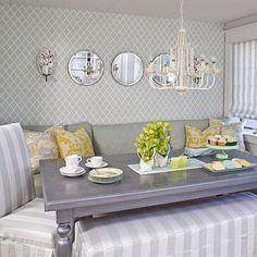 Built-in dining nook