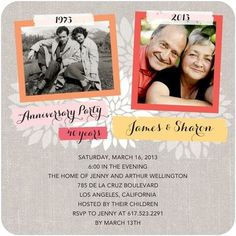 40th Anniversary Party Ideas On Pinterest 40th Wedding