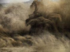 Edward Burtynsky, Xiaolangdi Dam #4, Yellow River, Henan Province, China, 2011