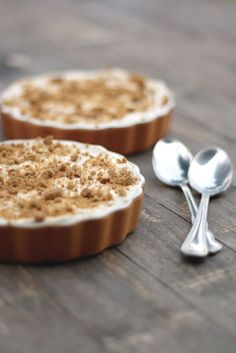 Pumpkin Pots de Creme with Spiced Whipped Cream