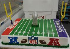Superbowl 2013 Cake