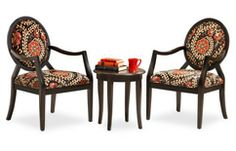 Sofa Mart: Sarafina Chair Pack