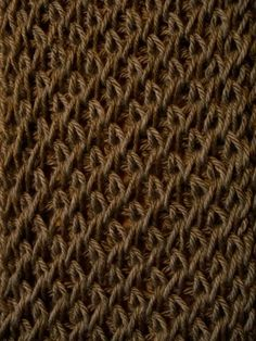 Criss Cross loom stitch