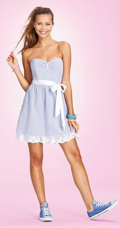 Seersucker Dress at dELiA*s