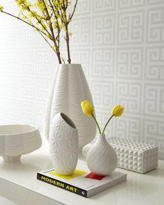 Love all these white vases from Adler!